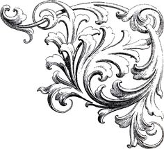 Scrolls-Corner-Ornament-2-GraphicsFairy