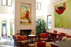 Living Room - mediterranean - living room - santa barbara - Shannon Malone