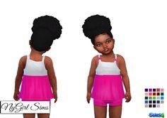 The Sims 4 Mody: Zestaw dla małych dziewczynek od NyGirl Sims 4