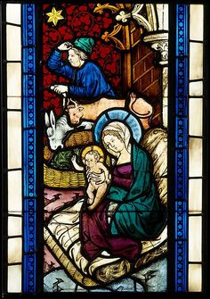 Holy Family / Adoration of the Magi from Seven Scenes from the Life of Christ // ca. 1390 // Made in Lower Austria, Austria #HolyFamily #Christmas #Epiphany