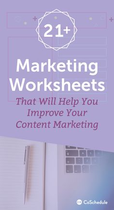 You aren't going to want to miss out on these 21+ FREE marketing templates and worksheets. http://coschedule.com/blog/marketing-templates/?utm_campaign=coschedule&utm_source=pinterest&utm_medium=CoSchedule&utm_content=21%2B%20Marketing%20Templates%20That%20Will%20Make%20You%20More%20Efficient%20And%20Organized