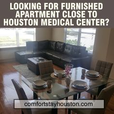 Furnished Apartments, Family Vacations, Medical Center, Houston, Furniture, Home Decor, Family Friendly Holidays, Family Activity Holidays, Interior Design
