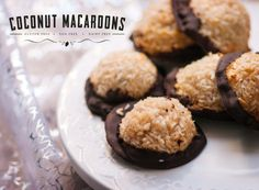 Coconut Macaroons.  Gluten free, egg free, dairy free.  Thermomix TM5 Edition.