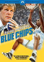 Blue Chips A college basketball coach is forced to break the rules in order to get the players he needs to stay competitive. Director: William Friedkin Writer: Ron Shelton Stars:Nick Nolte, Mary McDonnell and J. Basketball Movies, Basketball Coach, College Basketball, Louis Gossett Jr, Ed O Neill, Bobby Knight, Mary Mcdonnell, Shaquille O'neal, Por Tv