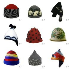 Felt hats. A hat says a lot. Be careful which one you leave lying around!
