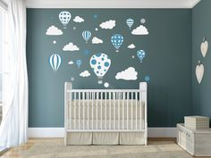 Naklejki ścienne dla dzieci na ścianę Balony Balon - madras24 - Naklejki na ścianę dla dzieci