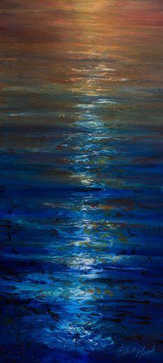 Drift Away, 2015 - Best Painting Acrylic 2019 Acrylic Painting Tutorials, Acrylic Art, Diy Painting, Abstract Landscape, Abstract Art, Wine Art, Beautiful Nature Wallpaper, Art Techniques, African Art