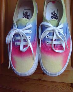 44aa53da1b Tees To Dye For — Rainbow Vans  ) (Pre-order 7 days)