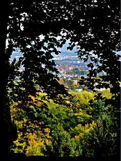 Kassel, Blick vom Bergpark