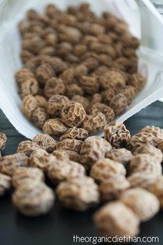 What are Tigernuts? + Tigernut Flour Crust (vegan, gluten free, paleo) - The Organic Dietitian