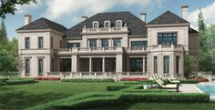 Classical | Richard Manion Architecture Inc. Rear Elevation