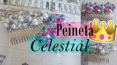 DIY| Peineta celestial | Decora tu peineta | 👑👑👑👑👑