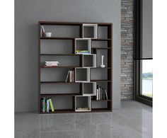 Libreria pensile igea in metallo laccato shelves pinterest