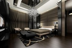 The Luxurious & Masculine Bedroom