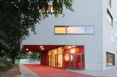 Elementary School in Berlin - entrance.