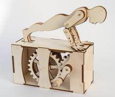 Laser-cut Press Ups | 3d.robives.com