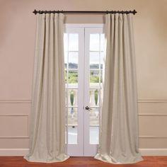 Half Price Drapes Bellino Blackout Single Curtain Panel| Wayfair $68 Wayfair.com (Other color options)