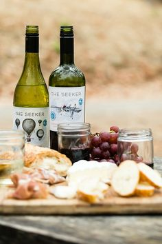 #SeekAdventure with an Easy Charcuterie Plate and a camping trip! by @foodnessg