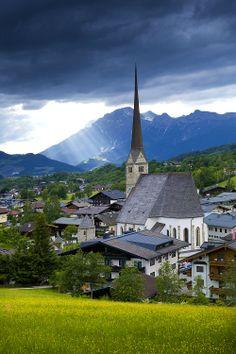 Village of Maria Alm, Austria