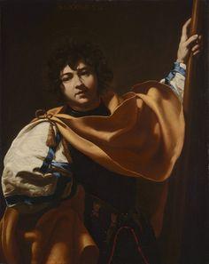 Simon Vouet (Paris 1590-1649), Saint George, Grippaldi Monte-Carlo Blueboy's Journey with Art: Photo