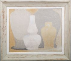 4 of 7 - Original acrylic painting on wood in antique frame by Peter Woodward