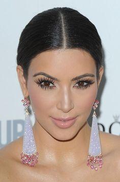 HUGE!!  eyelashes.
