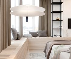 Harmonious modern interior for a young couple by Zooi on Behance