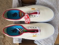 b040d9613749 Details about 2016 VANS AUTHENTIC CAMP FLOG GNAW CFG GOLF WANG OFF WHITE  MEN S SIZE 12 NEW