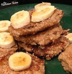 Easy Oats 'n Nana Pancakes
