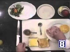 Chef Scott makes a Ham, Cheese and Apple sandwich - YouTube