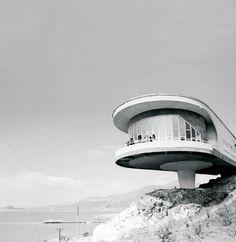 Canteen for the House of Recreation for Writers of Armenia, Sevan Peninsula, Armenia, 1969