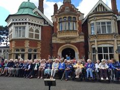 The Bletchley Park Veterans Reunion September 2016. Listen to the latest episode of the podcast to hear our interviews with some of them and about one young man's extraordinary story of how he came to sign the Official Secrets Act.