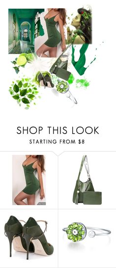 """""""Emerald City"""" by gigi-sessions ❤ liked on Polyvore featuring WithChic and Jennifer Chamandi"""