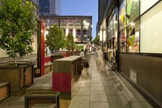 The Bank Street Parklet Project   Adelaide Australia   Taylor Cullity Lethlean