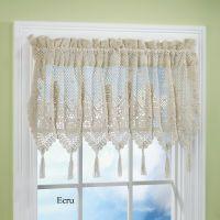 Victoriana Crochet Valance
