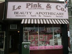 Le Pink and Co Apothecary - Silver Lake Not exactly ELA, but cool L.A. shop on Sunset.