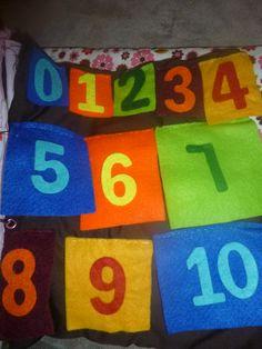 quiet book numbers