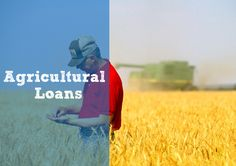 Agricultural Loans Most banks underwrite loans using standard commercial lending guidelines that don't make any sense for farms. Talk to us if you'd like to… Buy more land or newer equipment  Repair or construct new buildings  Refinance your existing debts  Buy