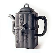 I really like the bamboo design on this teapot.