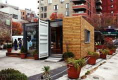 Shipping container home covered w/wood.... & the gallery on this web site will inspire your decor for years