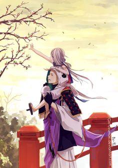 iwatooshi and imanotsurugi > Shounen Ai, Touken Ranbu, Manga, Anime, Character, Group, Couples, Sleeve, Manga Comics