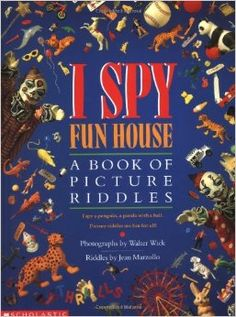 I Spy Fun House: A Book of Picture Riddles: Jean Marzollo, Walter Wick (Photographer): 0807728350833: Amazon.com: Books