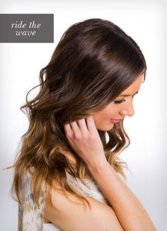 DIY: beachy waves