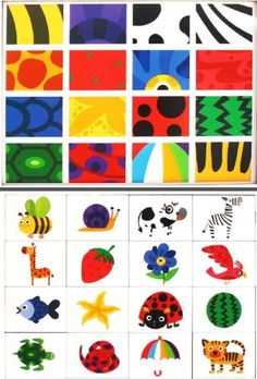 Colourful printable perfect for practicing visual discrimination Montessori Materials, Montessori Activities, Preschool Worksheets, Toddler Activities, Learning Activities, Preschool Activities, Kids Learning, Gifted Kids, Kids Education