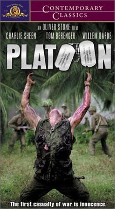 Platoon, 1986 by Oliver Stone.