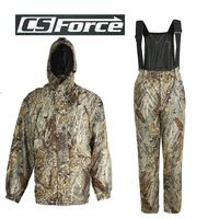 Mens Tactical Outdoor Bionic Camouflage Waterproof Uniform Paintball Wargame Clothes Hunting Ghillie Suits Shirt & Pants XL