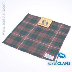 MacKinnon Hunting Tartan Pocket Square