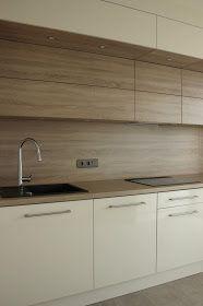BENO: Dąb Bardolino Szary Kitchen Layout Interior, Modern Kitchen Interiors, Kitchen Room Design, Kitchen Cabinet Design, Modern Kitchen Design, Home Decor Kitchen, Kitchen Furniture, New Kitchen Cabinets, Kitchen Tops