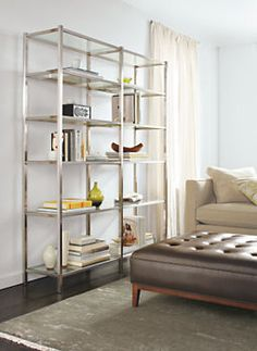 Brixton Bookcases - Bookcases & Shelves - Living - Room & Board