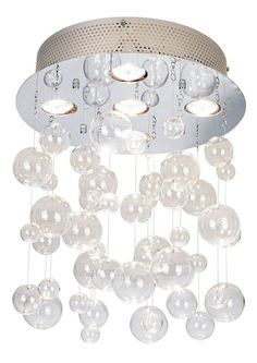 "Possini Euro Bubbles 13 3/4"" Wide Ceiling Light Fixture - EuroStyleLighting.com"